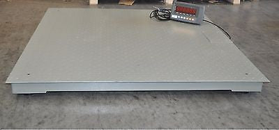 10,000 Lbs Capacity 4' X 4' Industrial Floor Scale - Solutionsgem