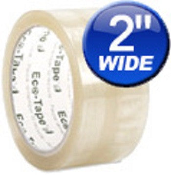 "2"" Clear Carton Sealing Eco Tape Various Quantities Available - Solutionsgem"