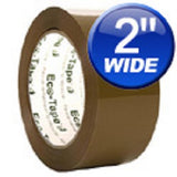 "2"" Tan Carton Sealing Eco Tape Various Quantities Available - Solutionsgem"