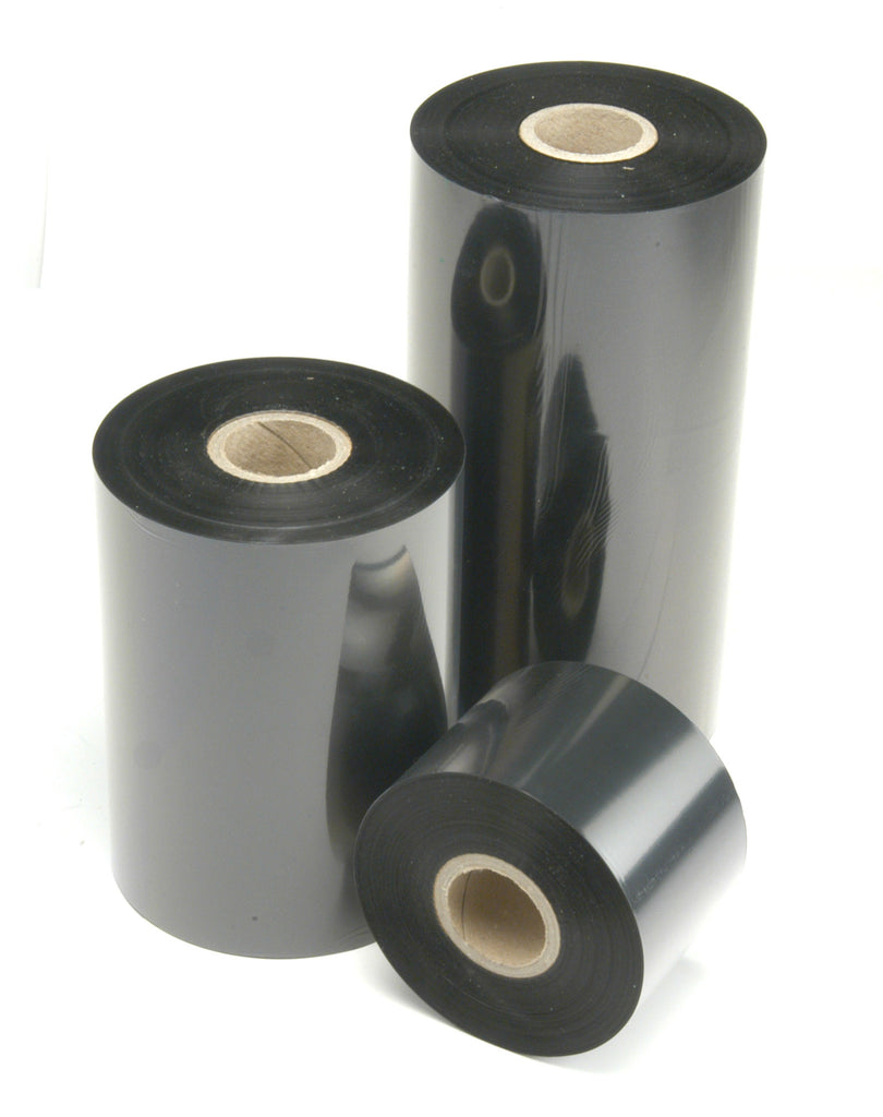 "6 Rolls Thermal Transfer Resin Enhanced Premium Wax Ribbon Desktop Zebra Printers 4.33"" x 243'"