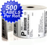 "4"" X 6"" 500/Roll Thermal Shipping Labels For Zebra Printer Various Quantities Available"