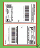 "Self Adhesive Mailing Shipping Labels 7.5"" X 4.75"" Paypal Various Quantities Available"
