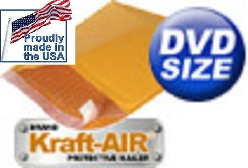 "#DVD BUBBLE MAILERS Padded Envelopes 6.5"" X 9"" Various Quantities Available - Solutionsgem"