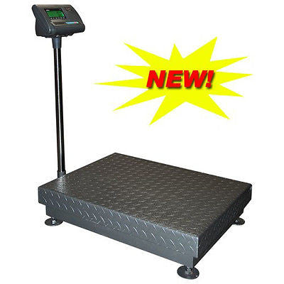 DWP-1100 1,100 Lb Stainless Steel Heavy Duty Industrial Bench Scale - Solutionsgem