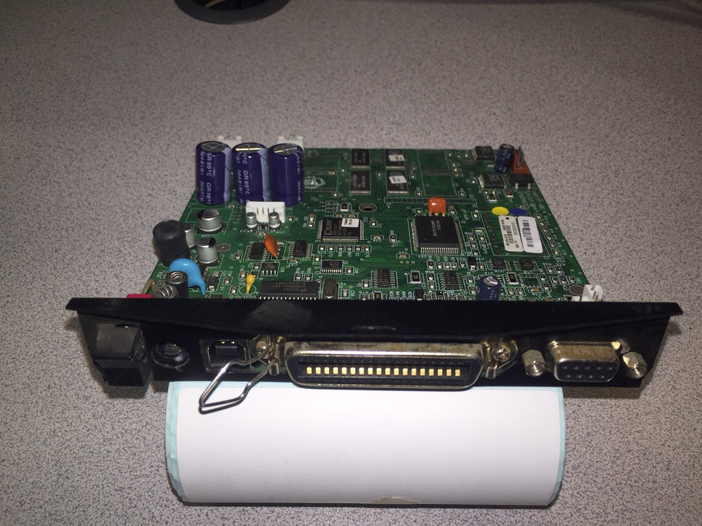 Used UPS Firmware Motherboard/Mainboard With Parallel, USB & Serial For Zebra LP2844 Printer