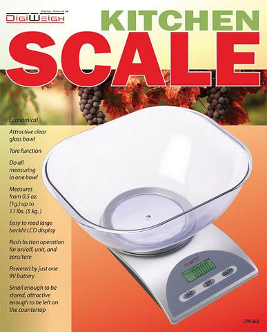 DW-83 11 Lb Digital Postal Kitchen Scale - Solutionsgem