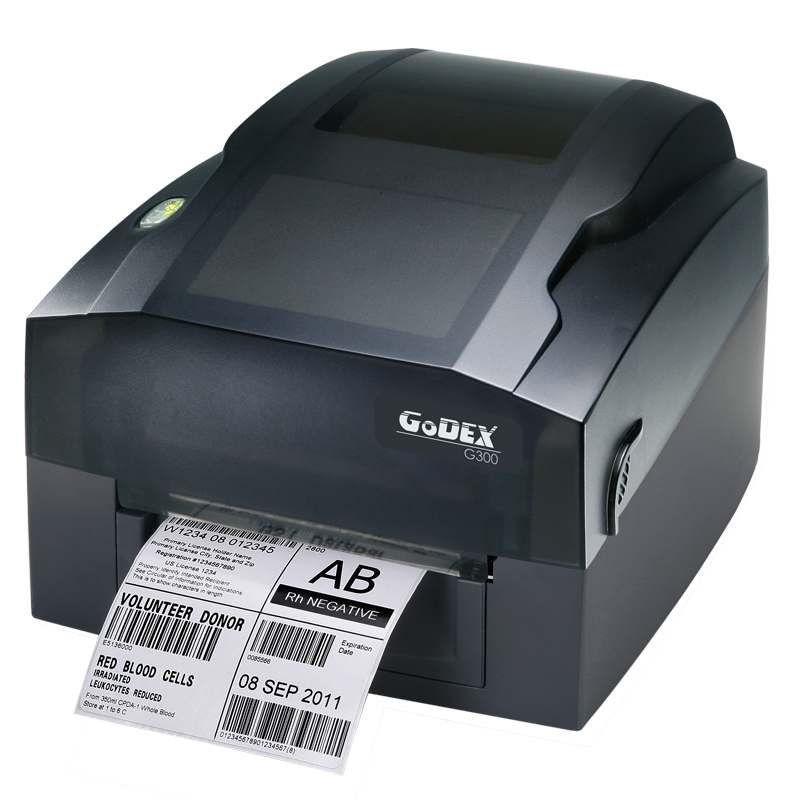 GoDEX G300 Direct Thermal/Thermal Transfer Printer - Solutionsgem