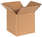 Corrugated Brown Shipping Boxes 7 X 7 X 7 Various Quantities Available - Solutionsgem