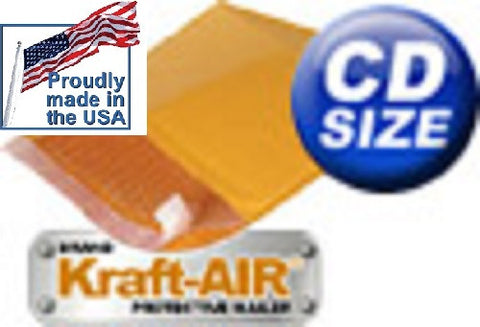 "#CD BUBBLE MAILERS padded envelopes 7.5"" X 7"" Various Quantities Available - Solutionsgem"