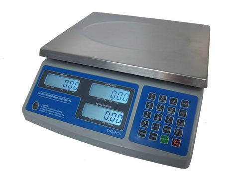 Scale Weighing Systems SWS-PCS-Series 60 Lb NTEP Legal For Trade Price Computing Scale