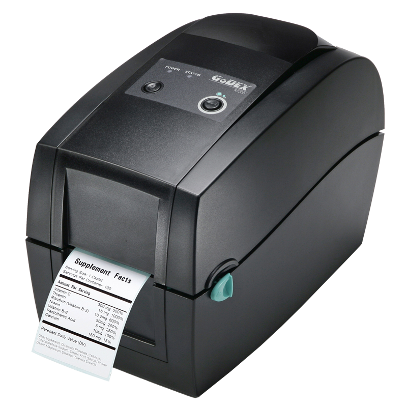 GoDEX RT200 Direct Thermal/Thermal Transfer Printer - Solutionsgem