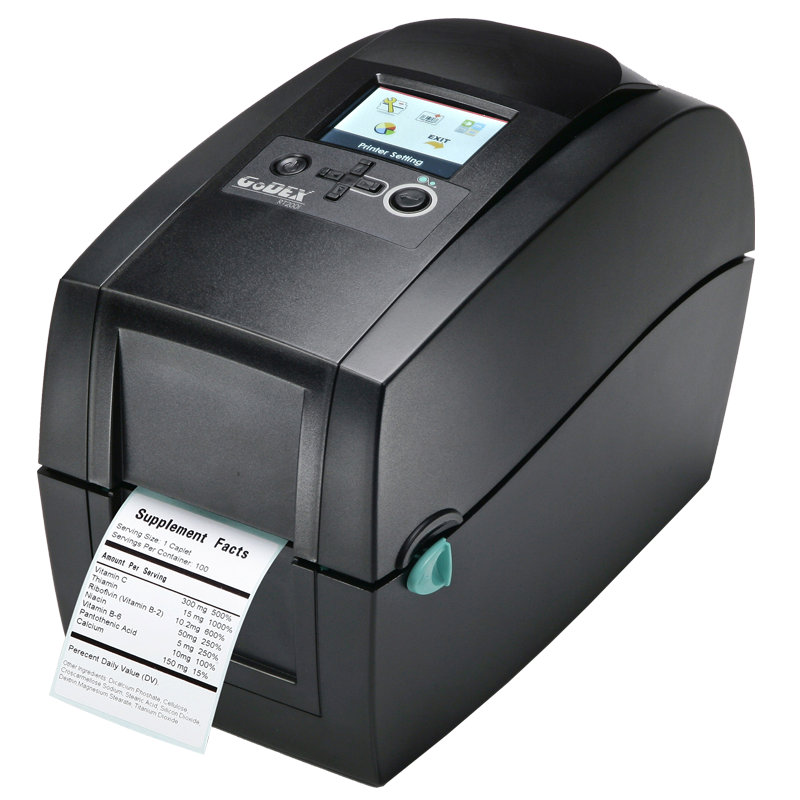 GoDEX RT200i Direct Thermal/Thermal Transfer Printer - Solutionsgem