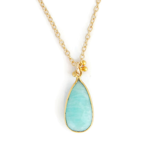 Warrior Amazonite Necklace | Truth | Empower