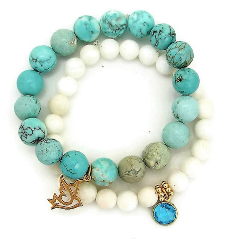 Peace Liberation Freedom Doves |  Amazonite