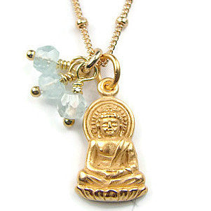 Buddha Necklace - Compassion | Enlightened Truth - Pranajewelry