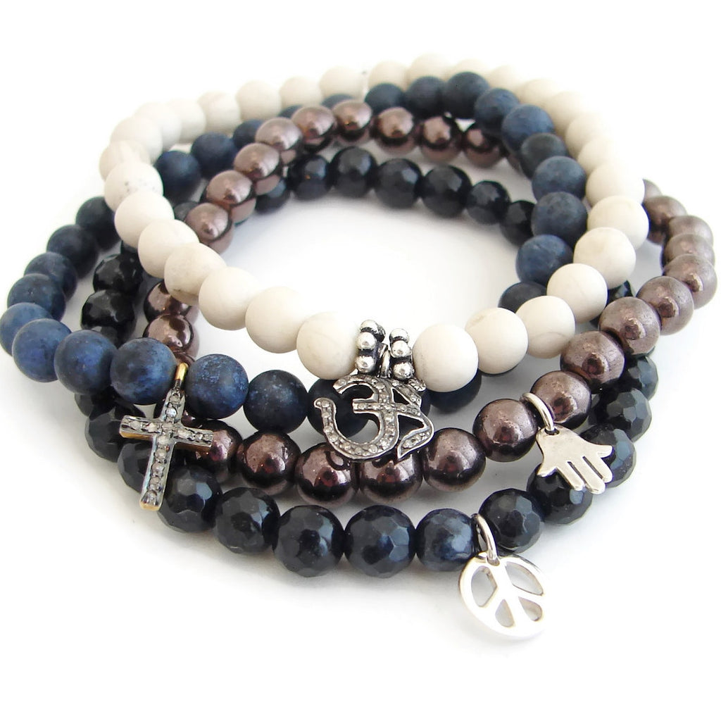 Coexsist | OM | Cross | Hamsa | Peace |  To Exist Together in Peace - Pranajewelry - 2