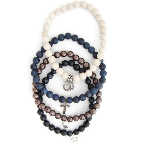 Coexsist | OM | Cross | Hamsa | Peace |  To Exist Together in Peace - Pranajewelry - 1