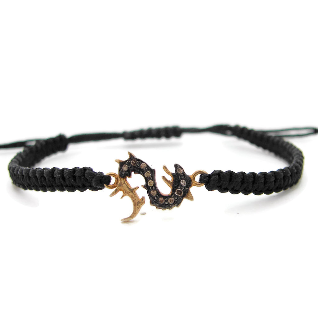 Diamond Dragon Bracelet