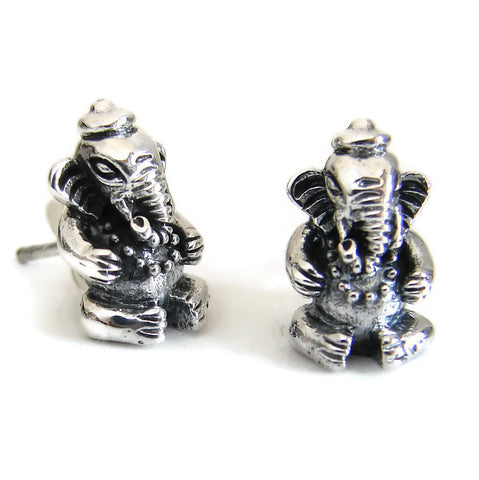 Ganesh Post Earrings