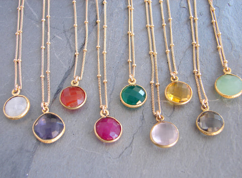 Intuition Gemstone Necklace - Pranajewelry