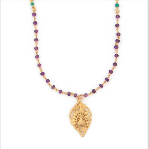 Peacock Gemstone Necklace | Beauty Power