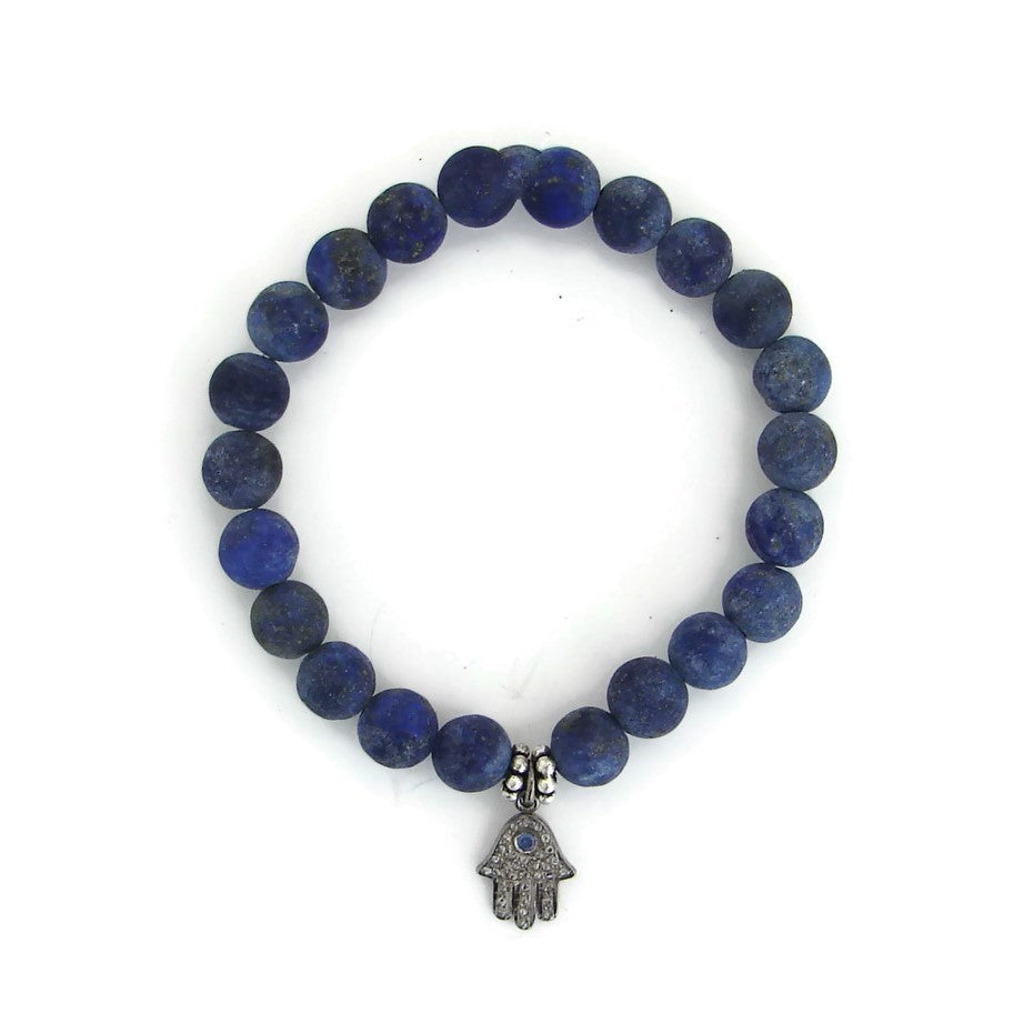Power of the Feminine Spirit | Diamond  Sapphire Lapis Bracelet
