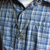 Mens necklace OM