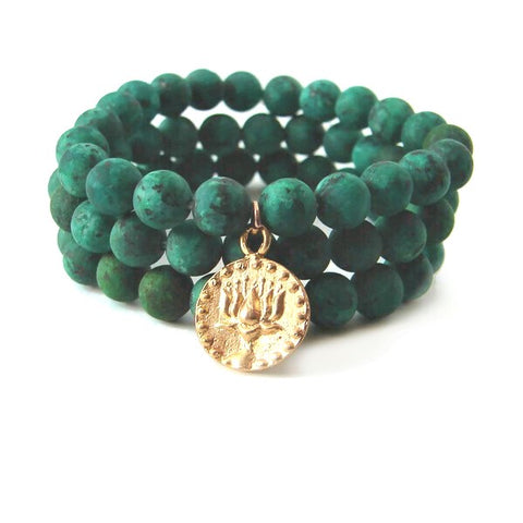 Empowered Lotus  Bracelet