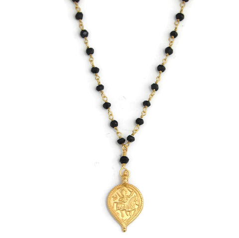 Mangalsutra Sun God Surya Necklace- Nurture Protection - Pranajewelry - 1