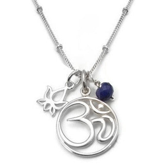 Om Necklace | yoga jewelry