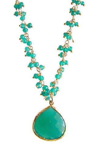 Green Onyx Inspiration Necklace