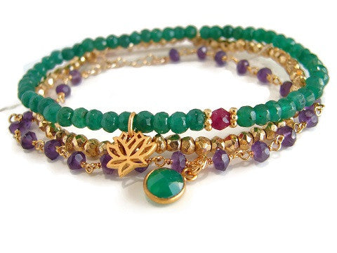 Eternal Love Radha Krishna Bracelet Set