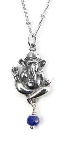 Ganesh Sapphire Necklace