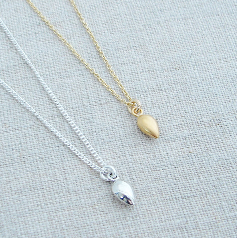 Seed Necklace | Plant the Seeds of Change - Pranajewelry - 1