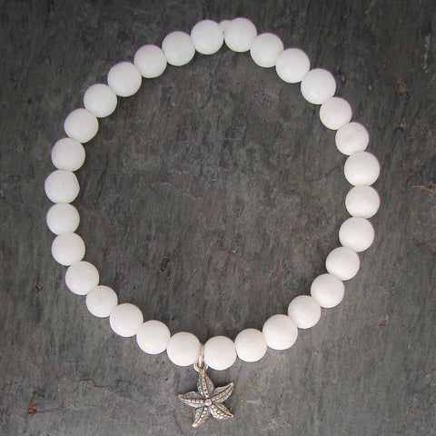 Star Fish Gemstone Bracelet - Pranajewelry