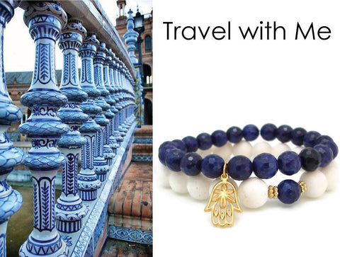 Travel with Me Travel Jewelry - Hamsa Protection