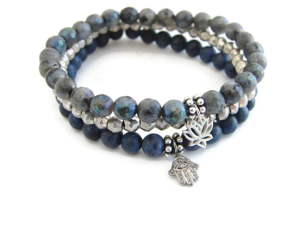 Diamond Hamsa Bracelet | Embrace the Power of Feminine Energy | Protection - Pranajewelry - 2
