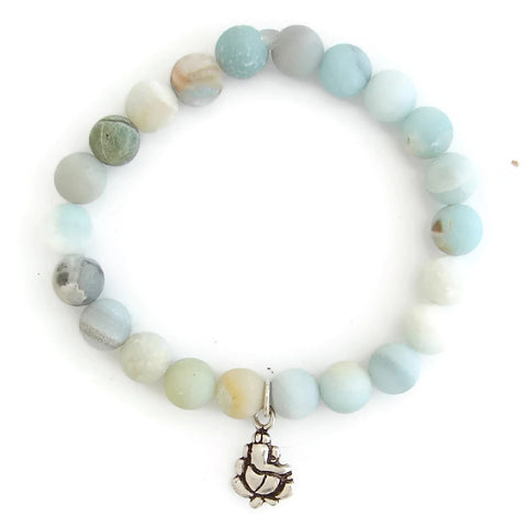 Ganesh Bracelet | Amazonite Bracelet | Remover of Obstacles