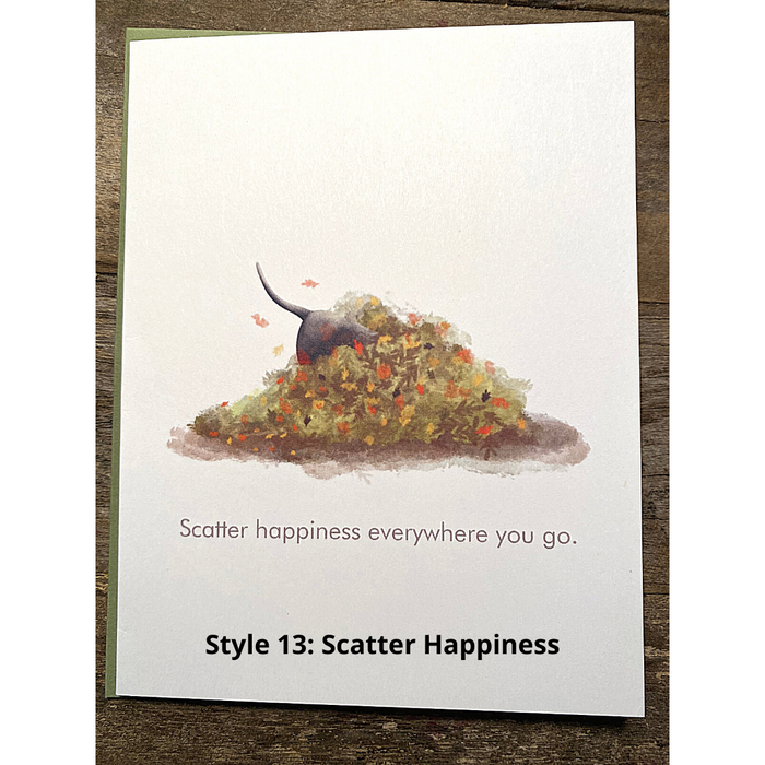 Style 13: Scatter Happiness