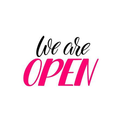 We Are Open and Keeping You Safe While You Shop With Us!