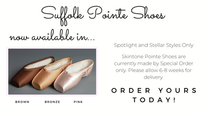 Skintone Suffolk Pointe Shoes