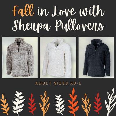 Adult Sherpa Pullovers