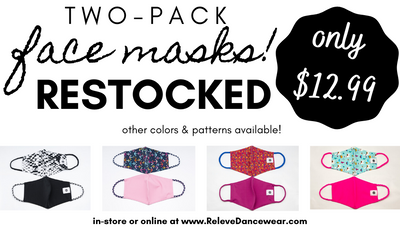 Two-Pack Face Masks