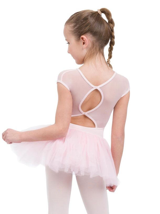 11394C Child Keyhole Tutu Dress