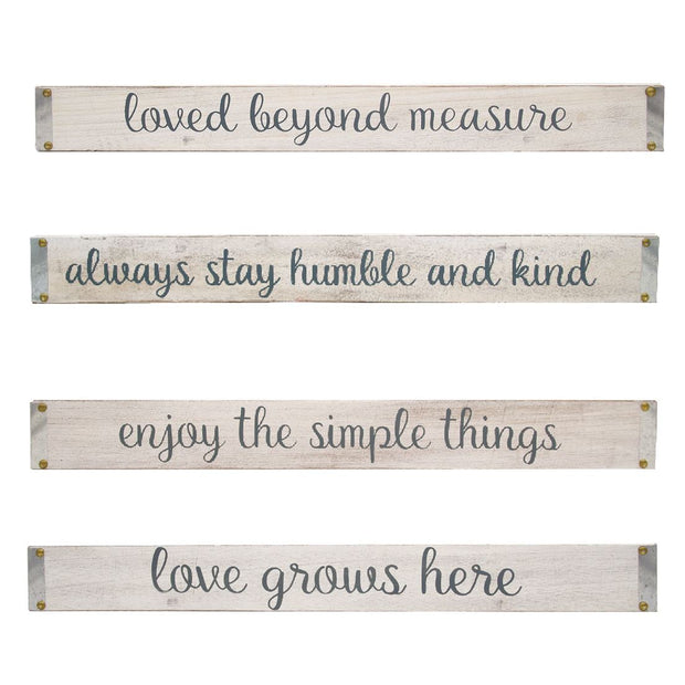 Inspirational Sayings Wall Sign