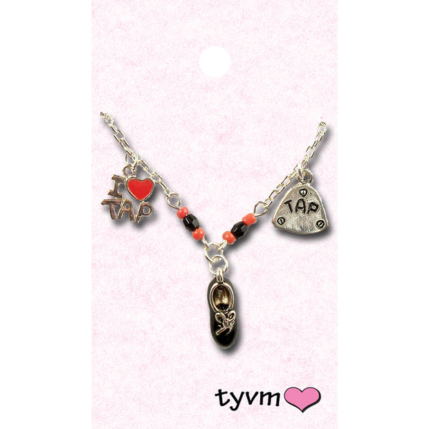 17356-NCK Tap Charm Necklace