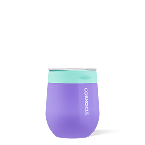 Corkcicle 12oz Stemless Wine Cup Color Block