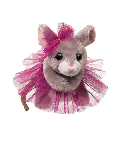 739 Tippy Toe Mouse w/Purple Tutu