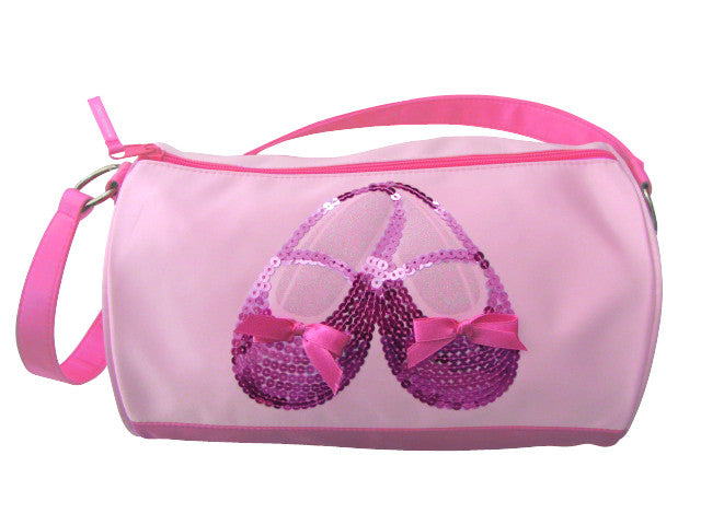 3401 Satin & Sequin Ballet Shoe Duffel