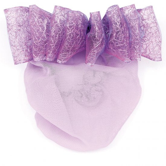 4077 Fancy Ribbon Bow Snood